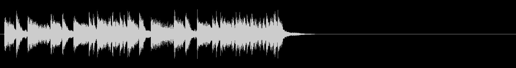 ジングル(コーナー・テーマ風)の未再生の波形