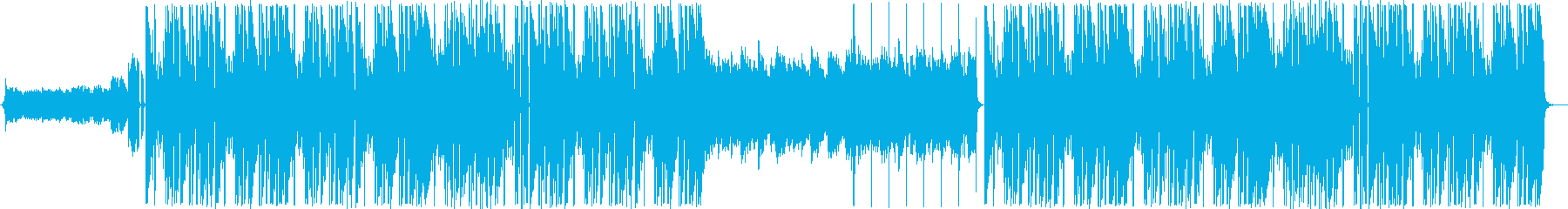 lofi感のあるTrap Beatの再生済みの波形