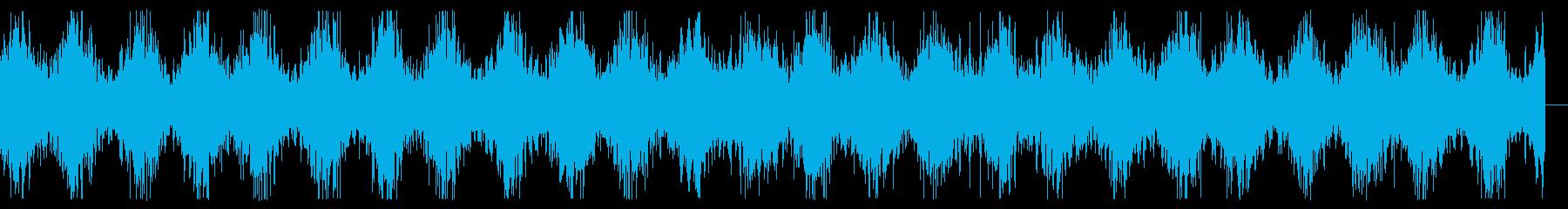 レーザーサーベルが放電しているイメージの再生済みの波形