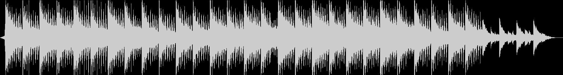 神秘的リラックス…雪のようなピアノ②の未再生の波形