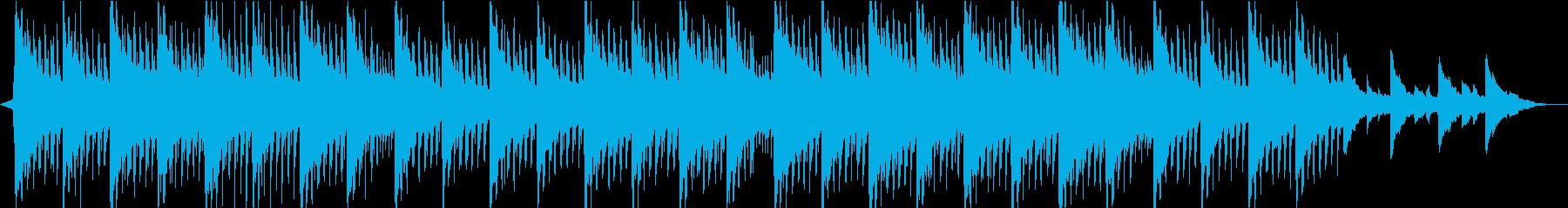 神秘的リラックス…雪のようなピアノ②の再生済みの波形