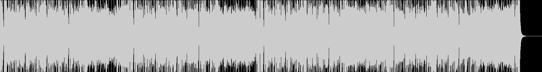 ファンク、ロックバンドサウンドの未再生の波形