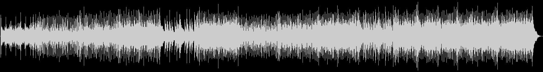 マンドリン、ピアノ、ギターの下に素...の未再生の波形