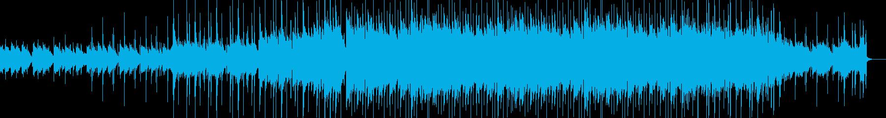 感動的なLo-Fi HipHopの再生済みの波形