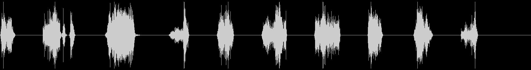 モンスター、タイプ2、Ro音11-20の未再生の波形