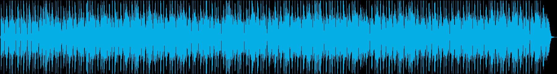 秋・冬・季節が移り変わるイメージ・チルの再生済みの波形
