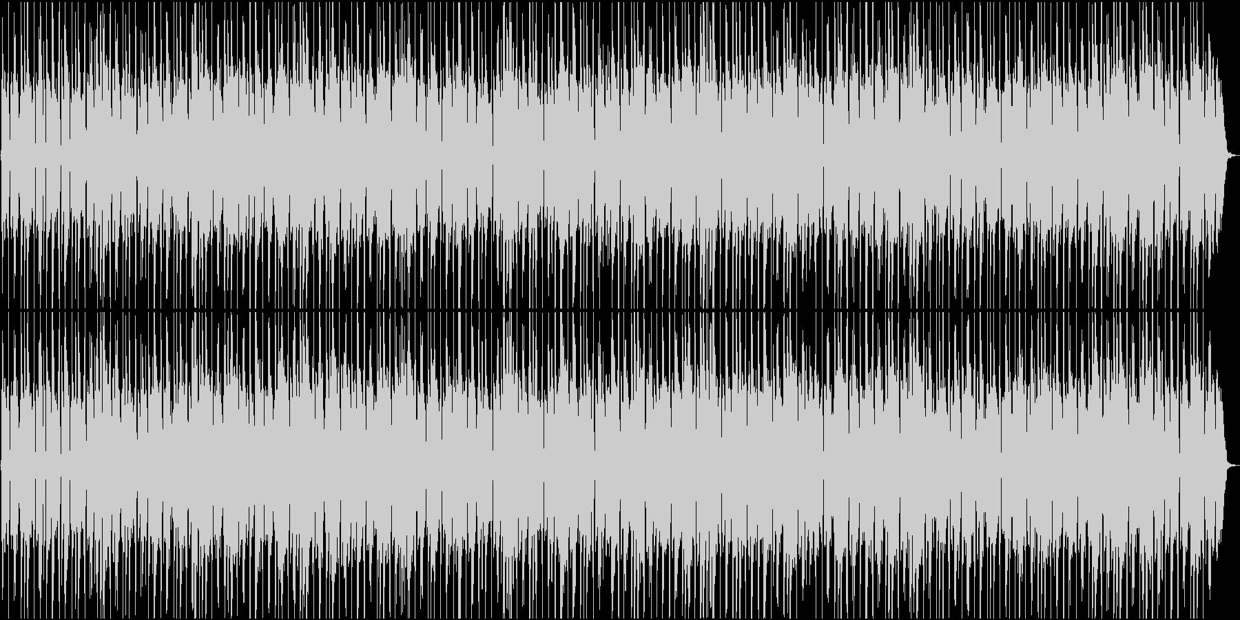 秋・冬・季節が移り変わるイメージ・チルの未再生の波形