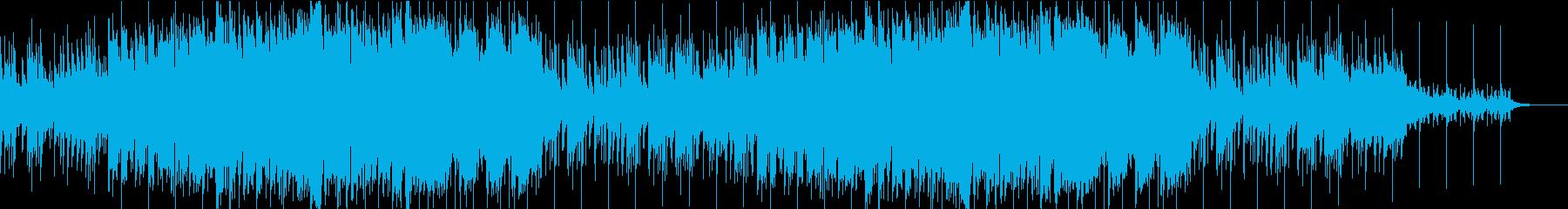 民族風のオーガニックで神秘的なBGMの再生済みの波形
