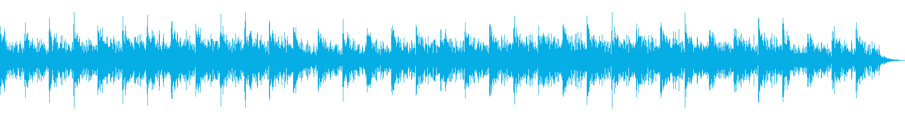 推理的感情の情報音楽_A_鳴りきりの再生済みの波形