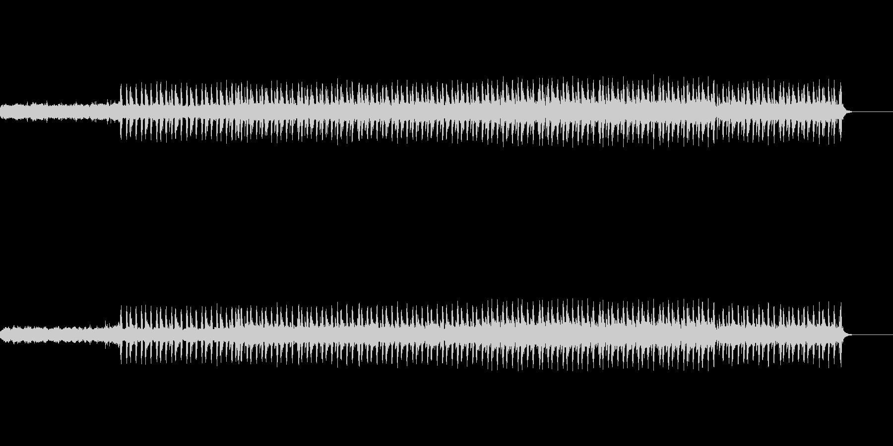 高速ビートジングル (DnB)の未再生の波形