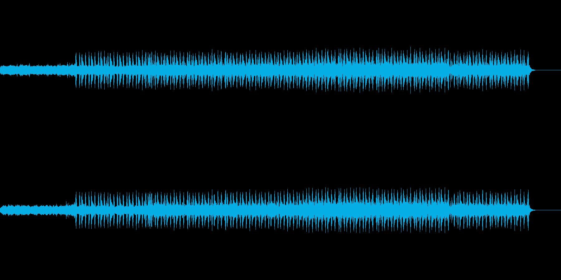 高速ビートジングル (DnB)の再生済みの波形