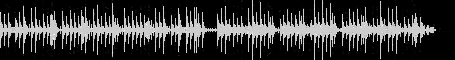 さくらさくらのオルゴールバージョンの未再生の波形