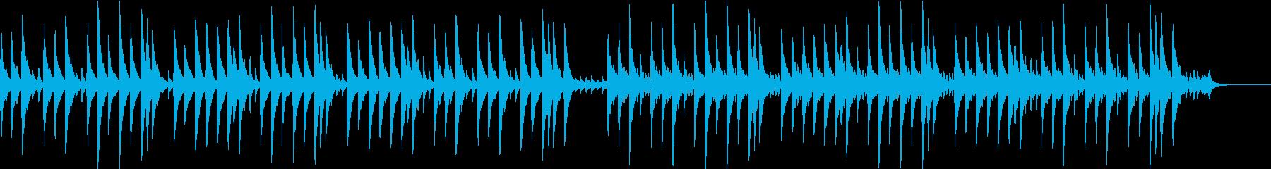さくらさくらのオルゴールバージョンの再生済みの波形