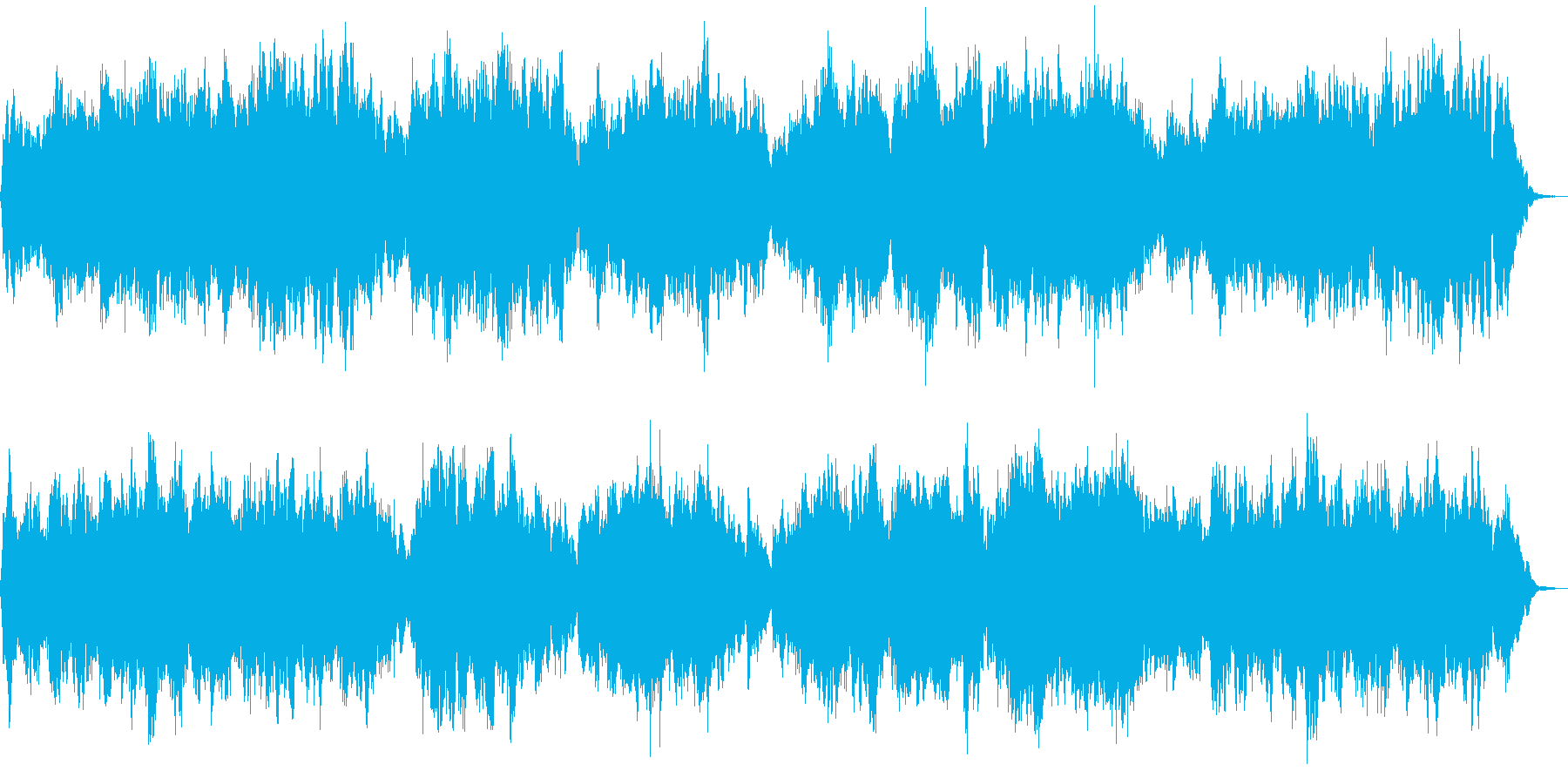 G線上のアリア・優雅な弦楽合奏の再生済みの波形