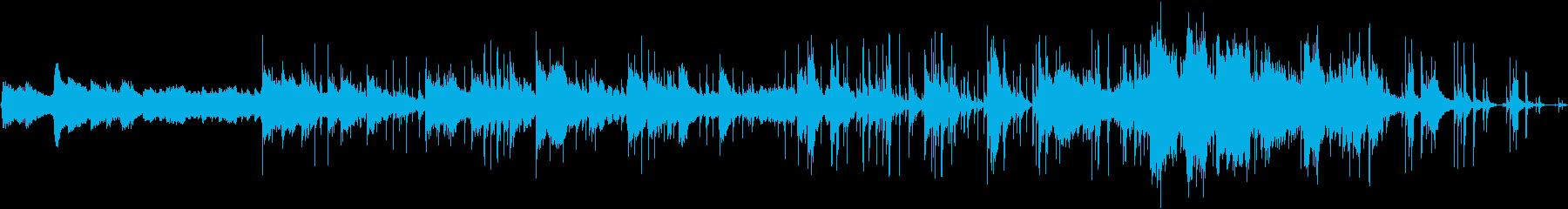 クールで哀愁漂う男の世界のフラメンコ楽曲の再生済みの波形