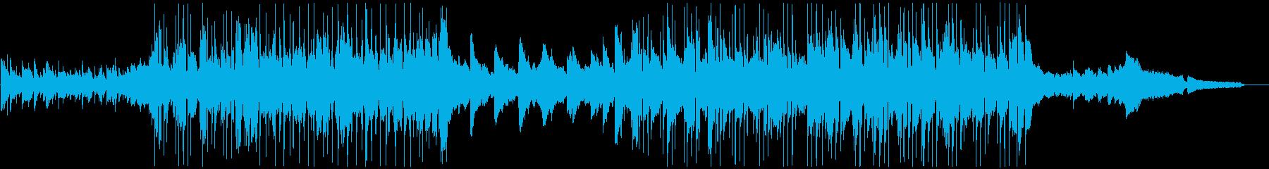 メロディアス、幅広、ポーズ、アコー...の再生済みの波形