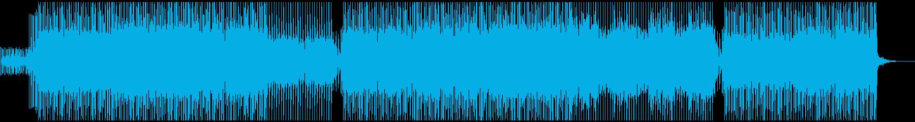 【アラビア風テクノ】軽快な中東テクノ2の再生済みの波形