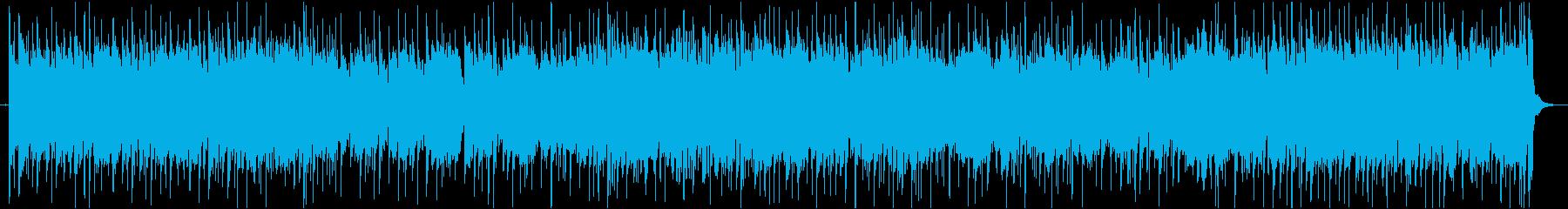 勢いのあるドラムが印象的なポップスの再生済みの波形