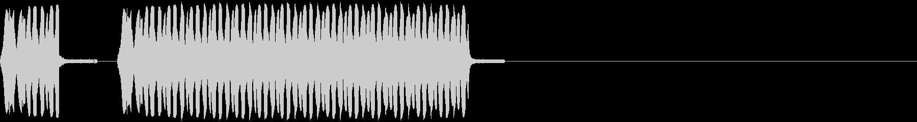 結構重めな不正解・NGの未再生の波形