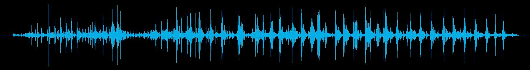 バルーンラビングクリーク、コメディ...の再生済みの波形