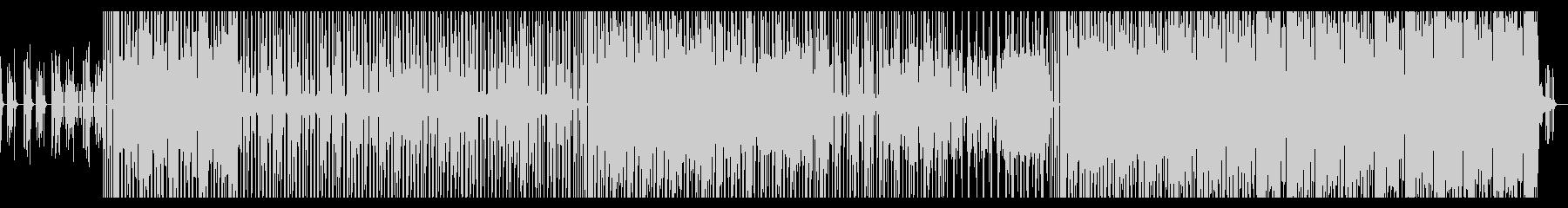 【メロ・ギターソロ無】ファンクロック風の未再生の波形