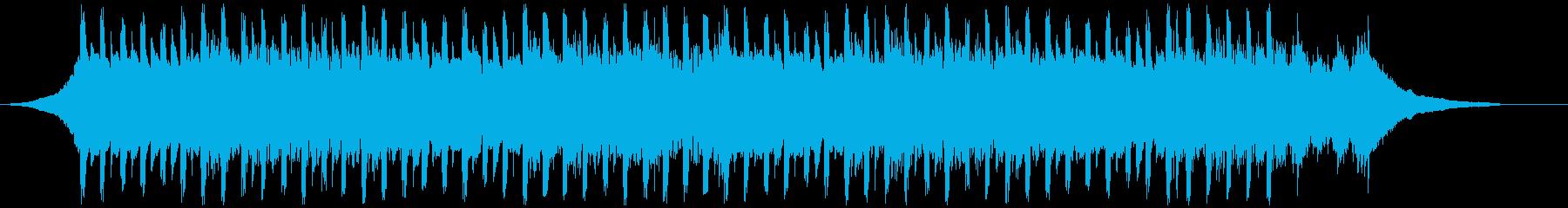 楽観的(38秒)の再生済みの波形