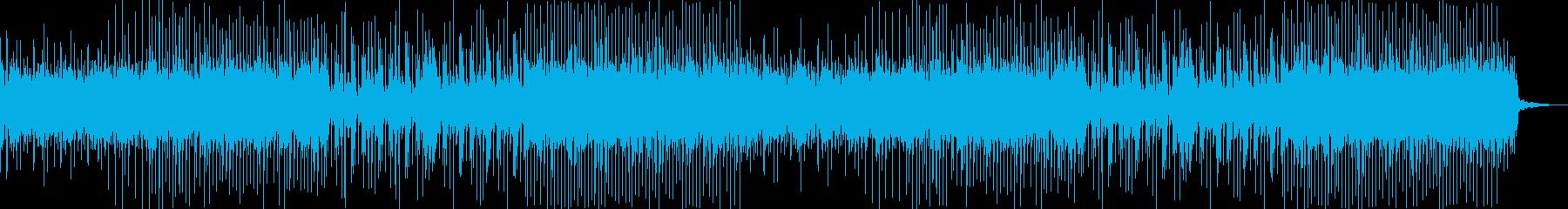 クールで現代的な三味線の和風ダンスロックの再生済みの波形