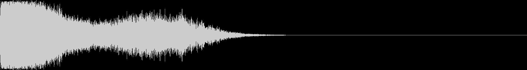 刀 剣 ソード カキーン キュイーン33の未再生の波形