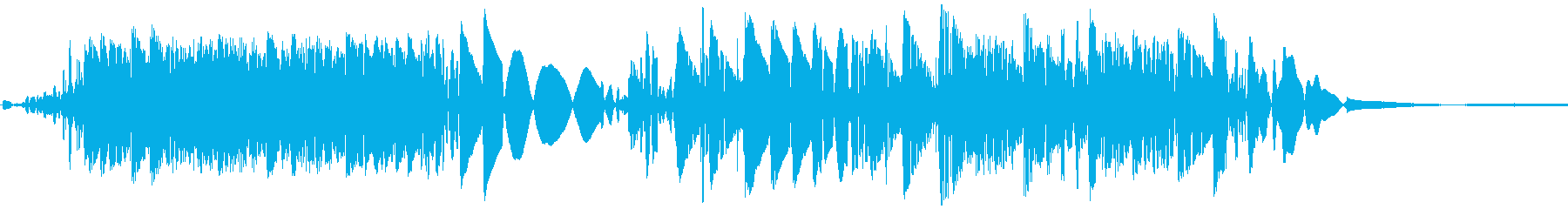 DJスクラッチの再生済みの波形