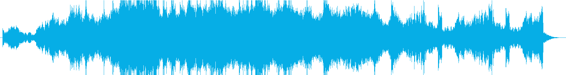 青々とした雰囲気のキュー。渦巻くシ...の再生済みの波形