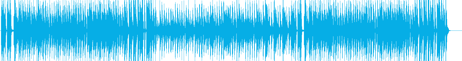 【CM】手順を解説、説明しよう。の再生済みの波形