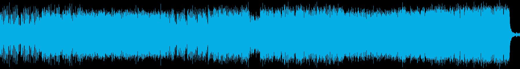 幻想的なボス戦BGM ループ可の再生済みの波形