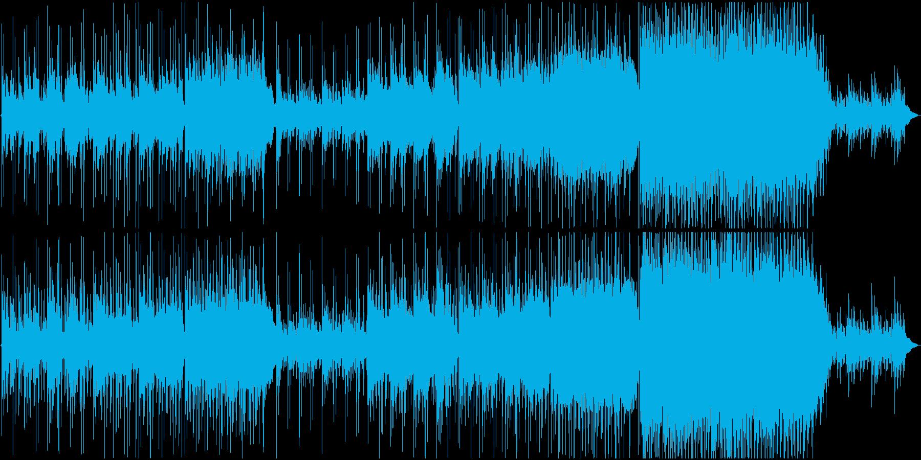 未来へ駆け出すようなピアノとストリングスの再生済みの波形
