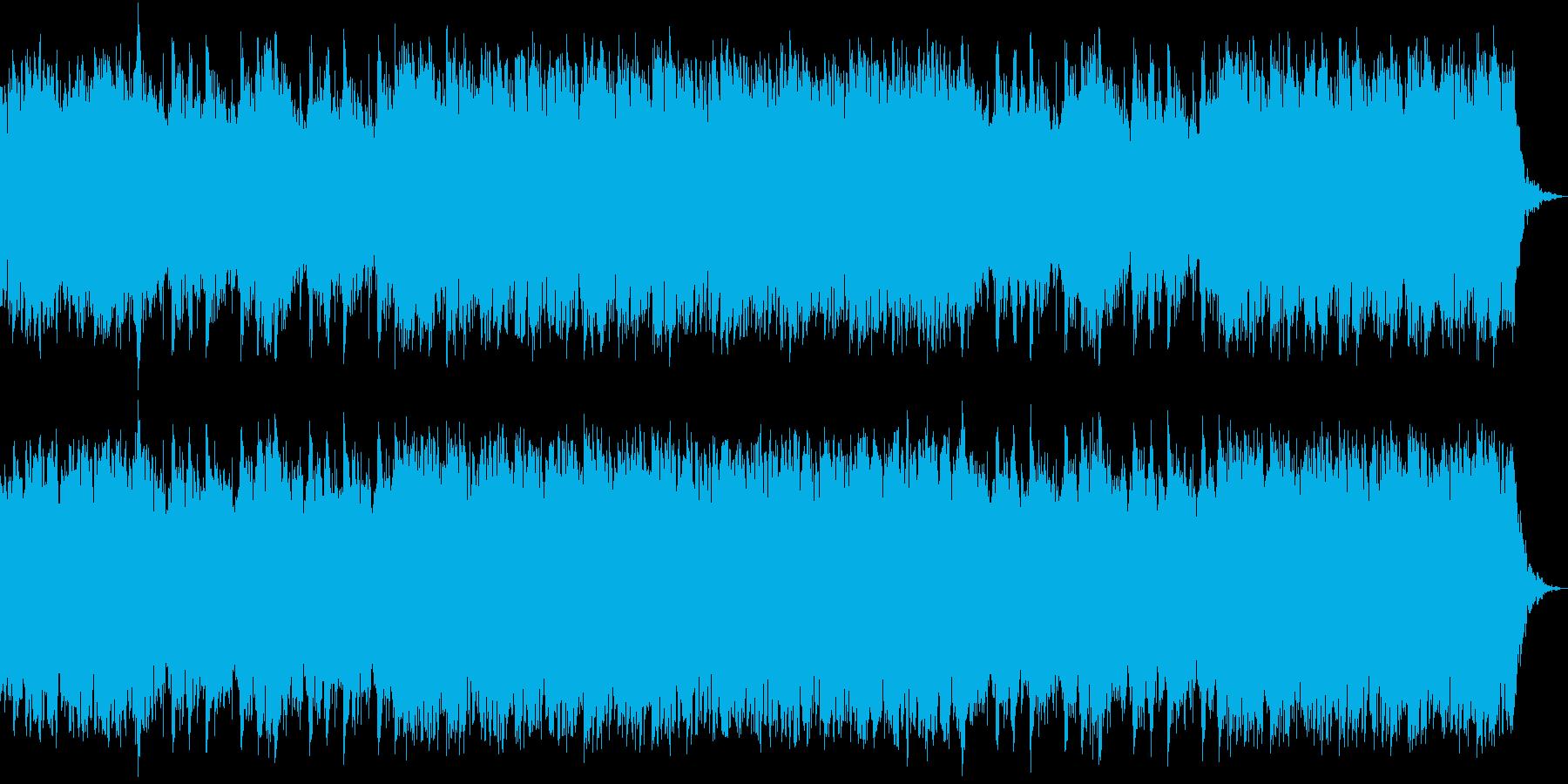 ゆったりとした雰囲気の和風テクノの再生済みの波形