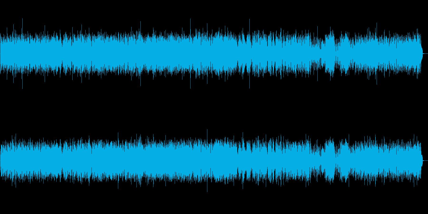 疾走感のあるジャズ ピアノトリオの再生済みの波形