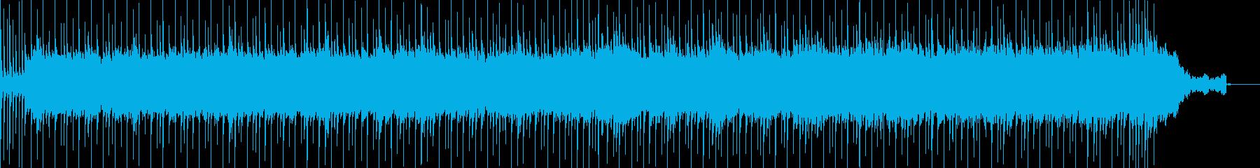 ほのぼのゆったりしたポップスの再生済みの波形