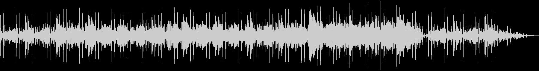 BGM素材(ムーディー、リラックス)の未再生の波形