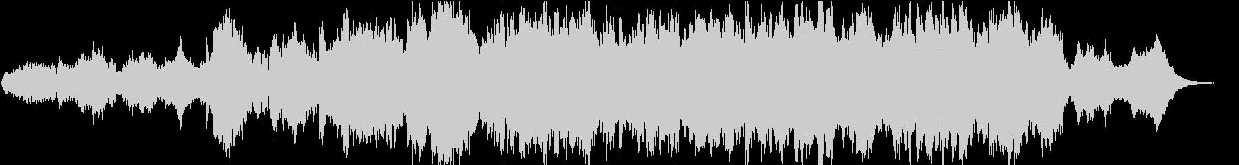 和風情緒ある優雅なオーケストラ(短縮版)の未再生の波形