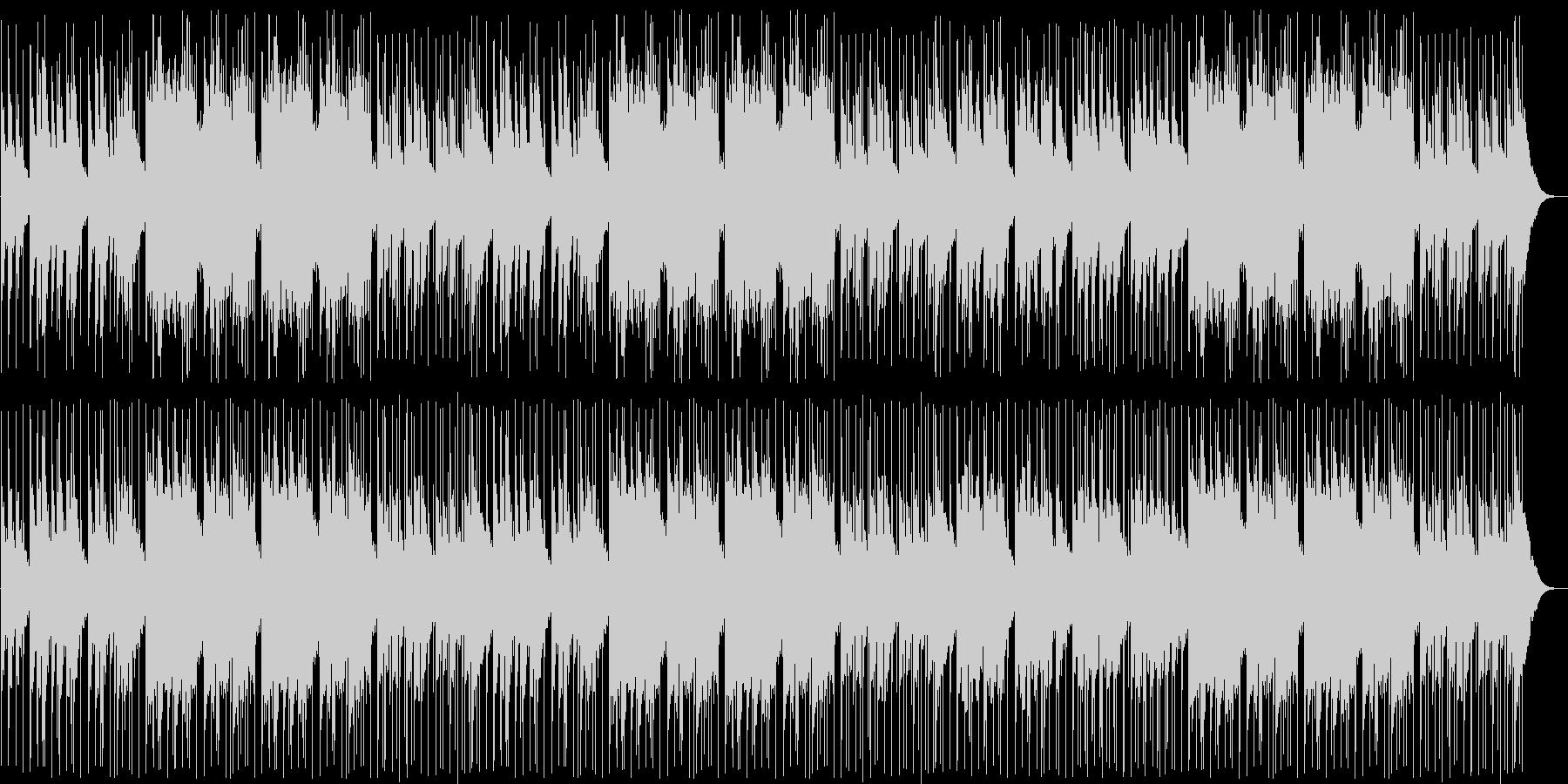 和太鼓のリズムが楽しい和風ミュージックの未再生の波形