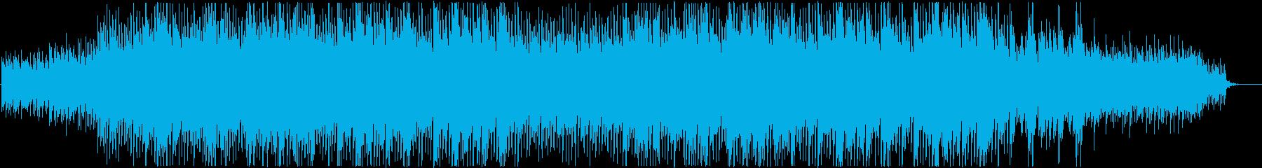 企業VP_爽やかなギターとテクノポップの再生済みの波形