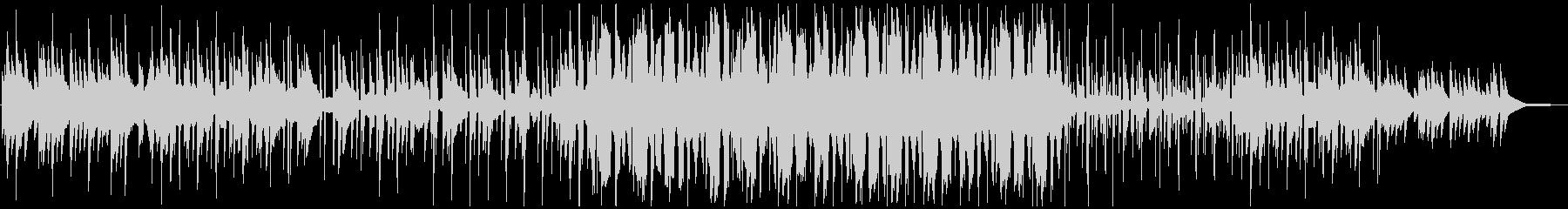 キラキラしたピアノChill hopの未再生の波形