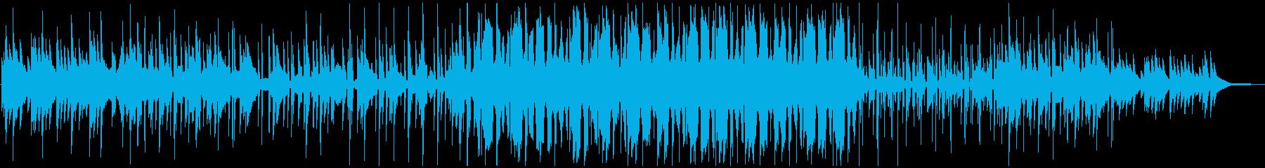 キラキラしたピアノChill hopの再生済みの波形
