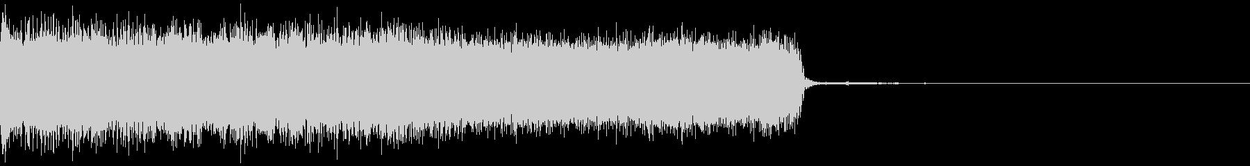 メタル イントロ ジングル3 生演奏の未再生の波形