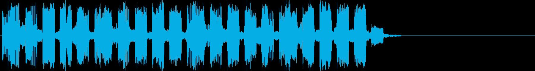 ズワゴゴズズッズワッゴ…(アイキャッチ)の再生済みの波形