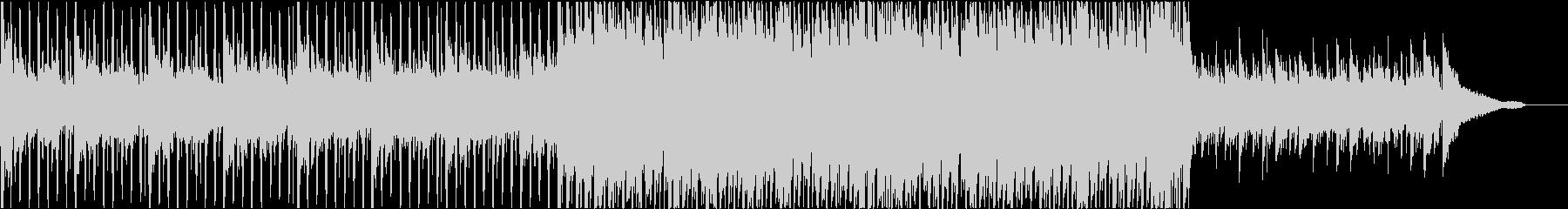 アコギ生演奏の明るく聞きやすいPOPSの未再生の波形