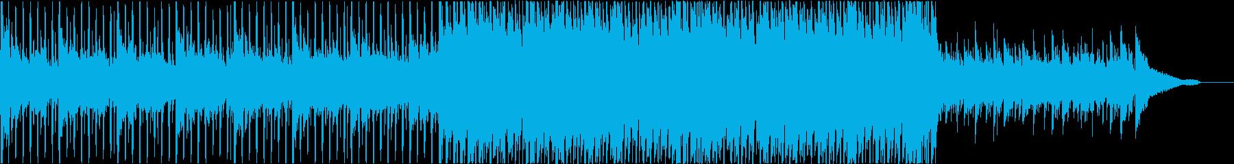 アコギ生演奏の明るく聞きやすいPOPSの再生済みの波形