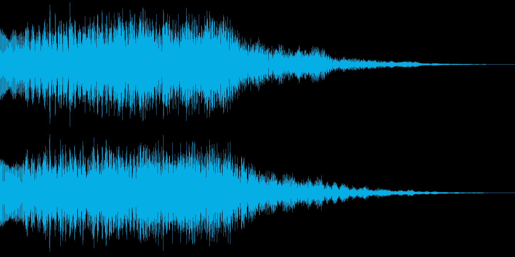 キラキラキラン 変身 魔法 パワーアップの再生済みの波形