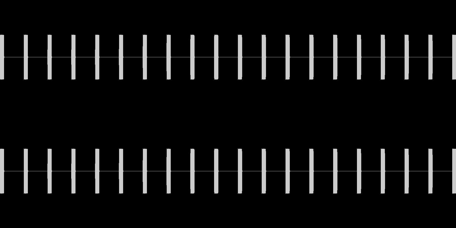 爆弾起爆装置の時計:ゆっくりとした...の未再生の波形