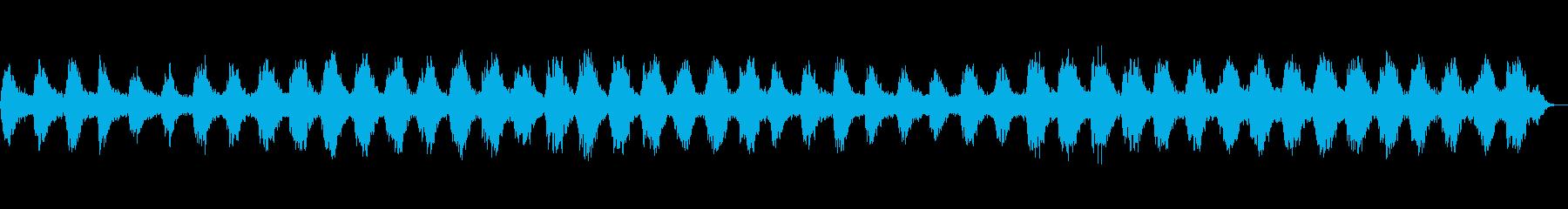 安らぎに満ちた爽やかなサウンドの再生済みの波形