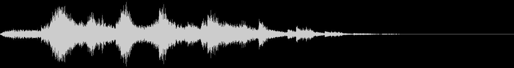 キラキラ_ベルの音の未再生の波形